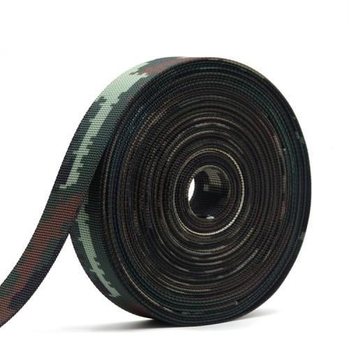 防红外阻燃高强涤纶迷彩织带